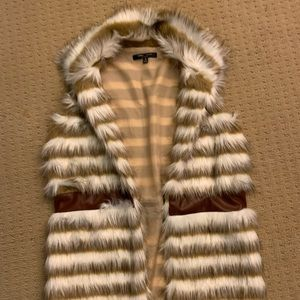 FUR ROMEO AND JULIET COUTURE VEST
